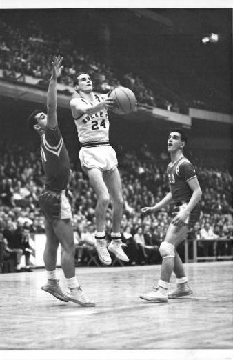 Gene Reilly at Boston Garden